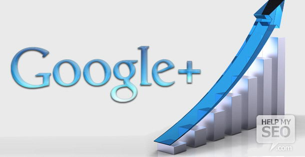 Google+ connections can help your website rank higher on the organic search engine results page.