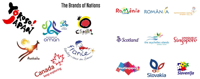 Nations too have their logo