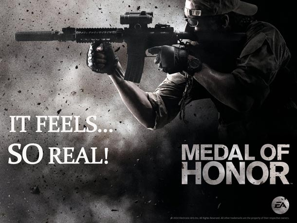 Medal of Honor game benefits from Navy Seal Team input.