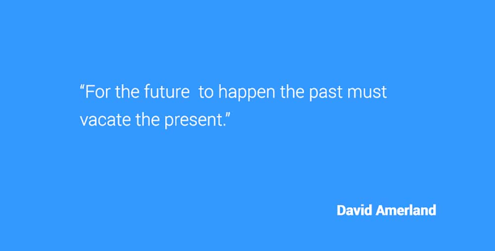 David Amerland quote about the future