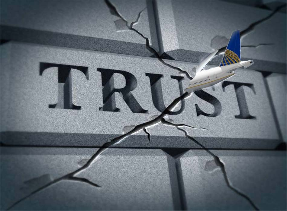 United Airlines Broke Operational Trust