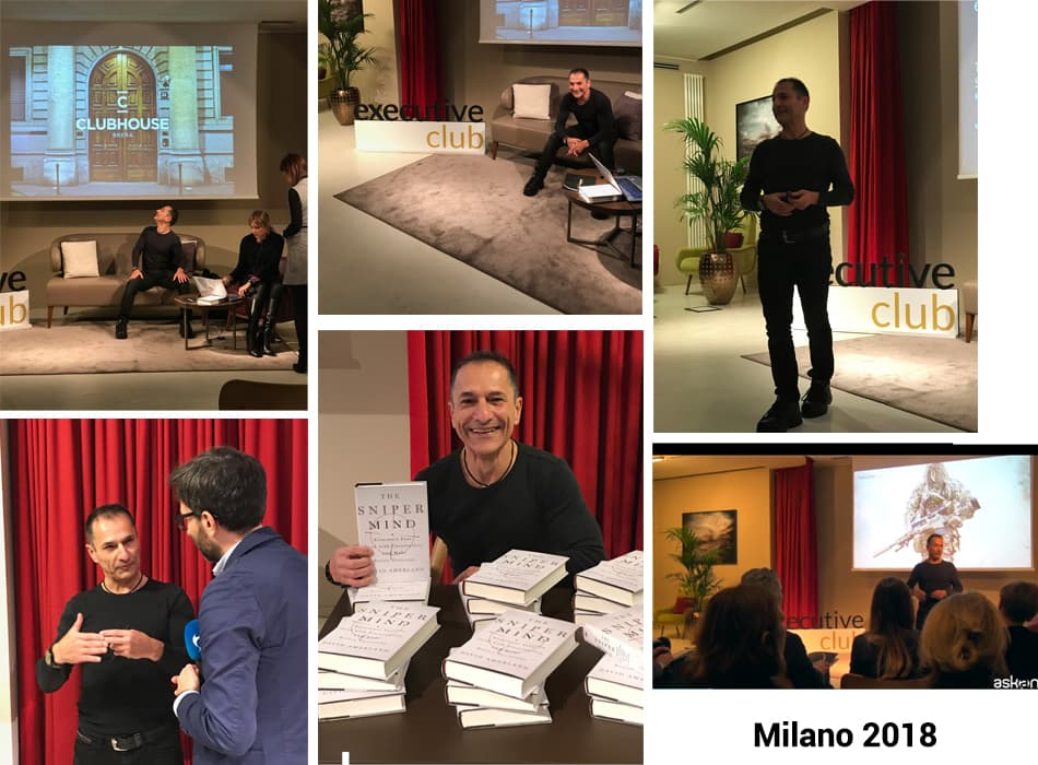 David Amerland keynote at Executive Club Milan, 2018