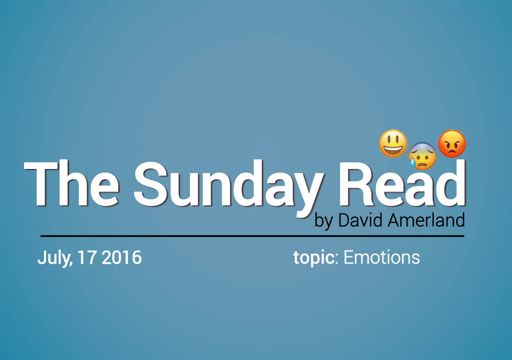 Emotions Sunday Read