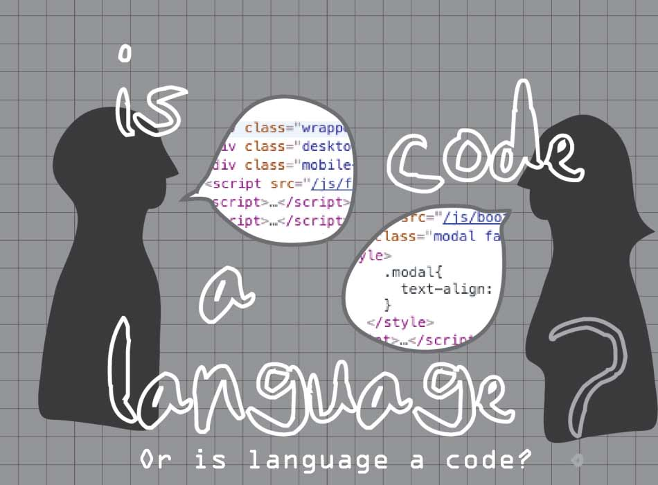 Language is a representational code in semantic search