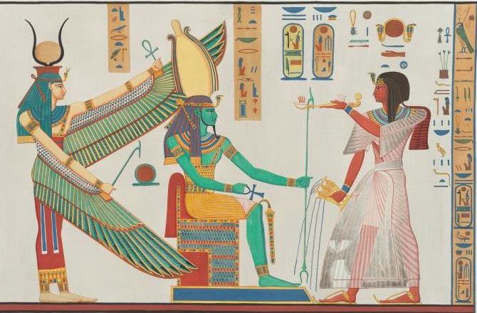 Writing was controlled by the Egyptians