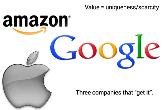 Companies that get what value really is
