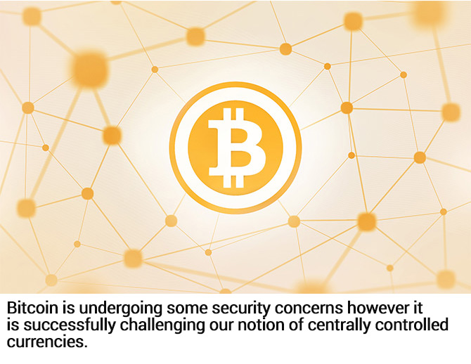 Bitcoin challenges fiat currencies