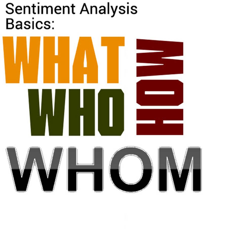 The basic building blocks of sentiment analysis