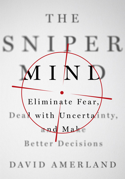 The Sniper Mind link to Amazon David Amerland's book
