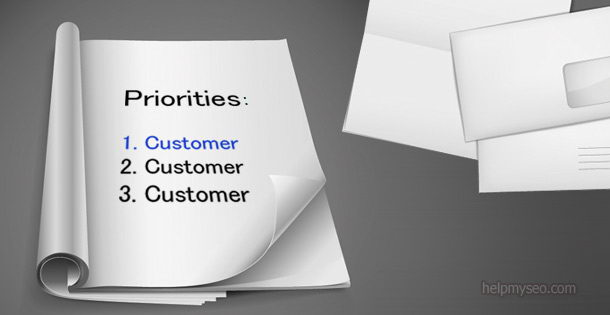 Customer service as a priority is a winning strategy