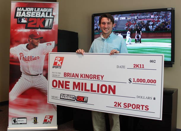 Brian Kingrey won one million dollars playimg video games, thanks to the power of Google search.