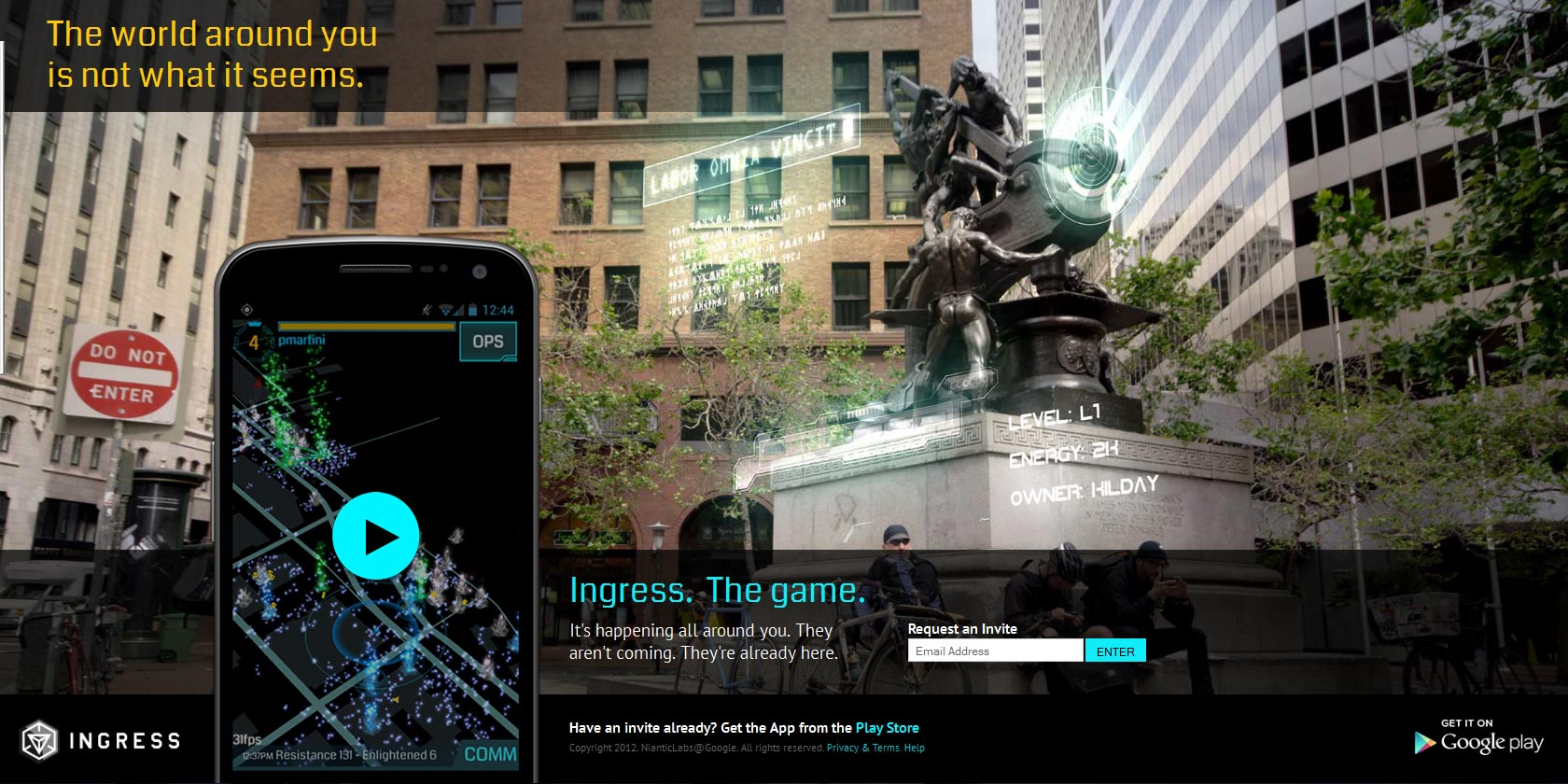 Google Gamification Using Ingress to generate Brand Pull